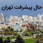 مناطق در حال پیشرفت تهران