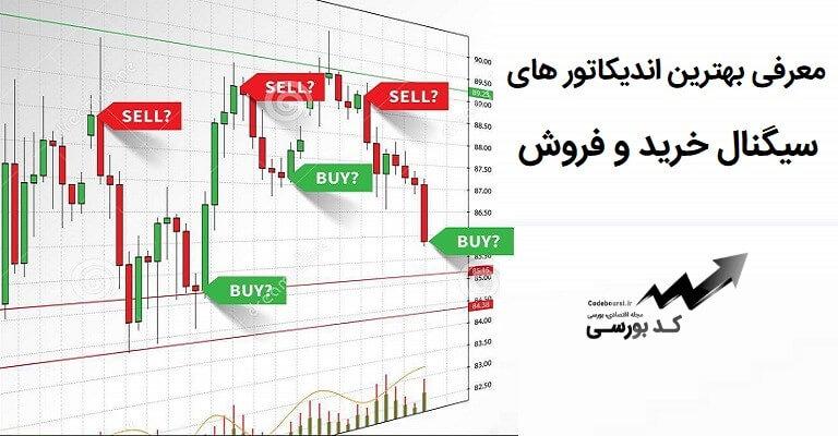 اندیکاتور های سیگنال خرید و فروش